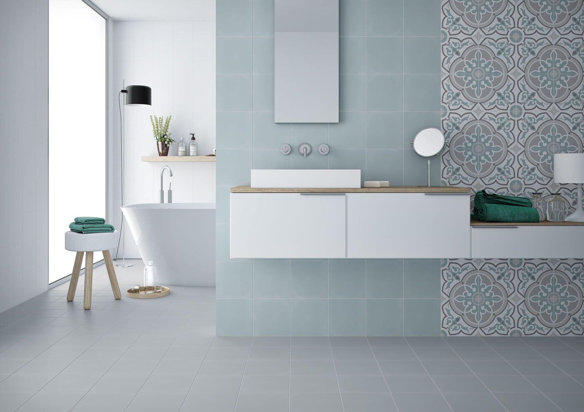 URBAN DÉCOR ALBA 20X20 , Project Tiles \u0026 Wood