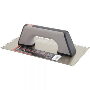 Bimaterial Handle Square Notched Trowel 5873-12 BIM
